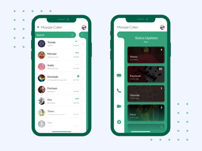 Whatsapp Mobile App Redesign Concept