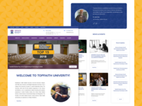 University Website Concept