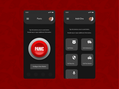 Emergency Response Mobile App Concept