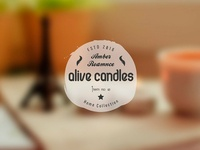 Olive Candles