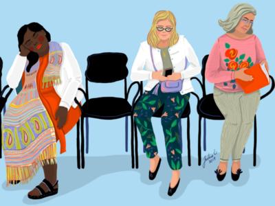 Ladies colors ipadproartist people diversity colorful illustration 2d women procreate