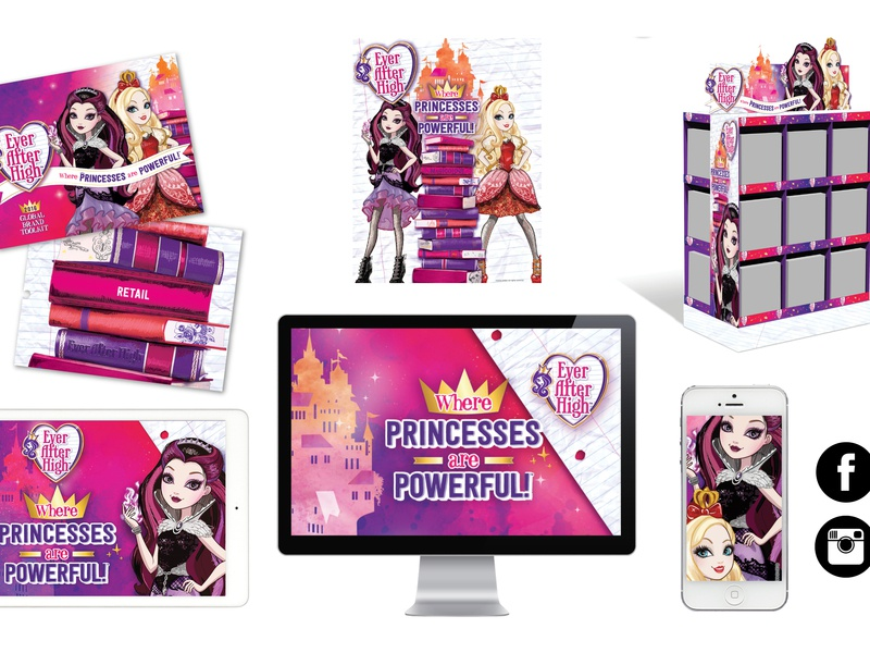 Mattel: Ever After High Brand Campaign