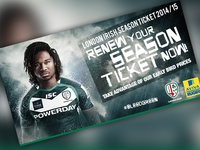 London Irish 2014 season ticket web artwork