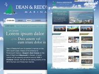 Dean & Reddyhoff homepage circa 2009