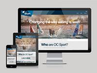 OC Sport responsive site