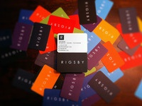 RIGSBY Business Cards