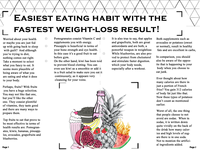 Easiest eating habit with the fastest weightloss result!