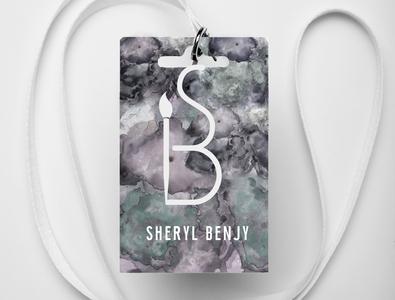 identification card design  Sherylbenjy project