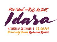 Idara Brush lettering