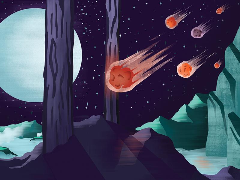 Sci-Fi Film Festival 2 illustration texture sci fi science space film festival