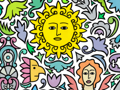 I am a little sunshine drawing illustration