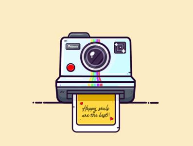 Polaroid cam