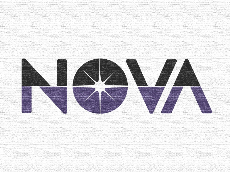 NOVA star logomotive nova logo
