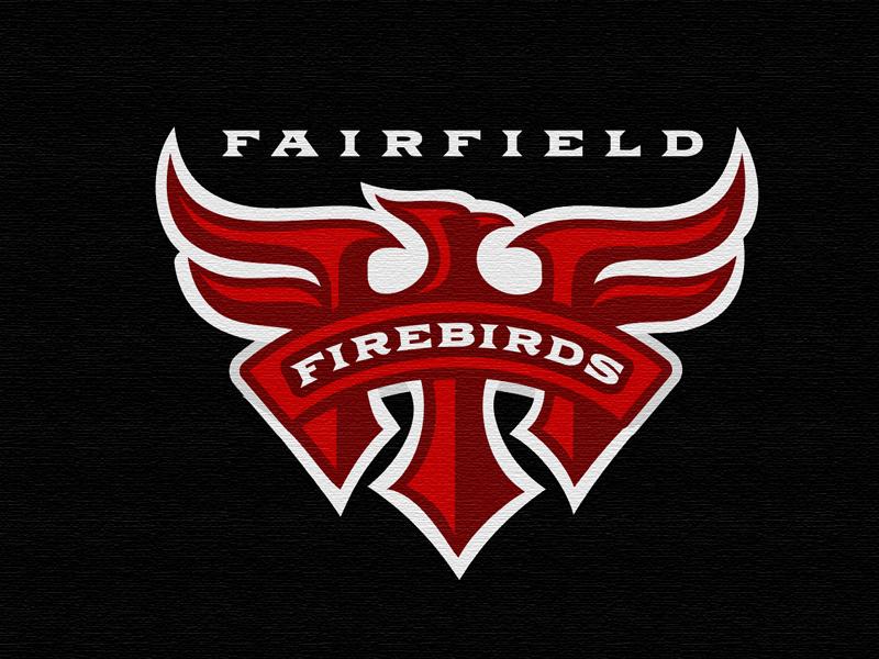 Fairfield Firebirds. erickson. mike logomoitve bird firebirds logo ff