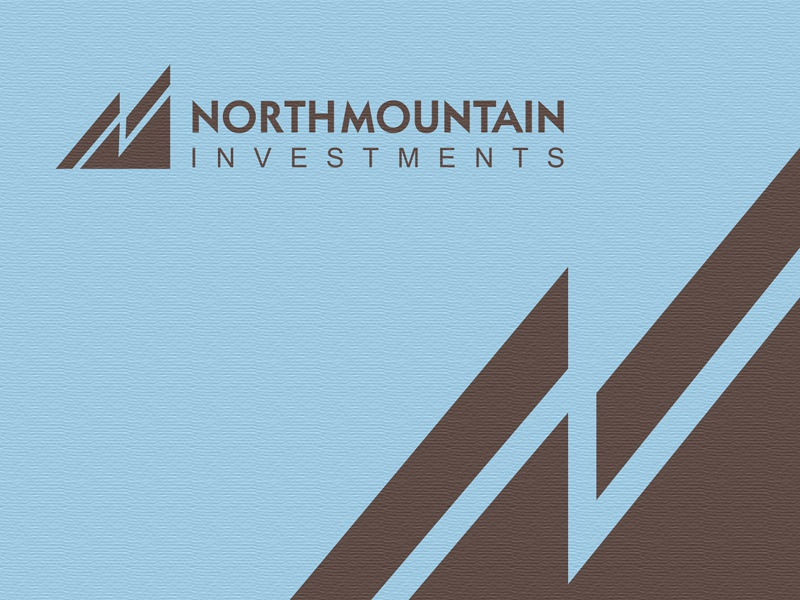 NorthMountain investments. logomotive m n mountain north logo
