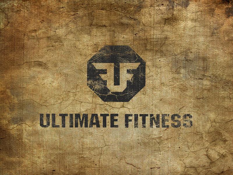 UF Logo octagon logomotive logo f u fitness ultimate faber uriah