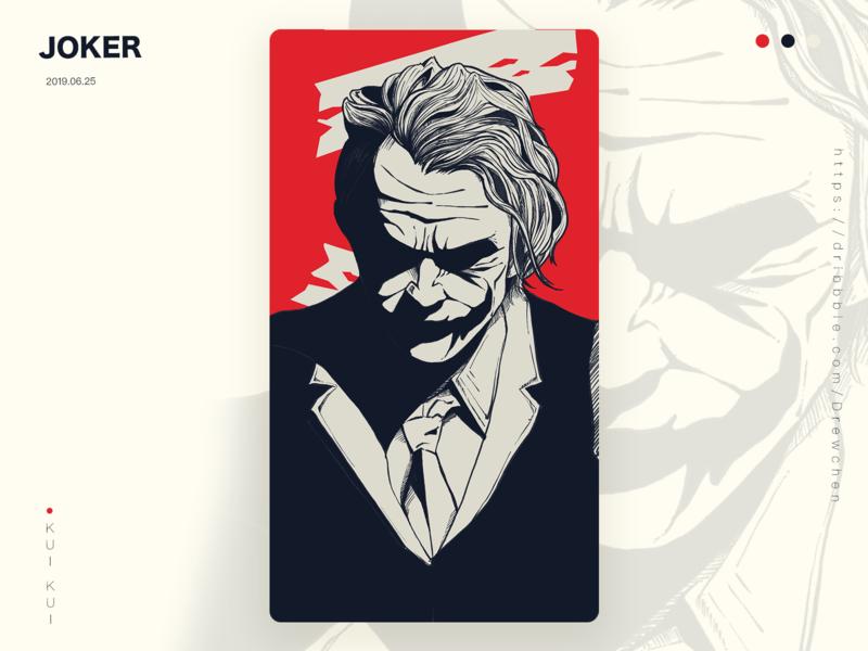 joker 设计 插图