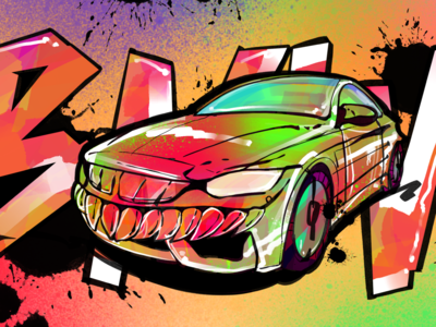 BMW M4-Try a new style