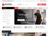 Belatung Online E-Commerce