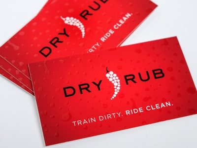 Dry Rub Athletic Seat Covers : Business Card