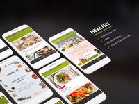 Meal Plan App Design