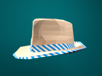 Low Poly Fedora