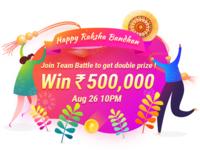 Happy Rakish Bandana
