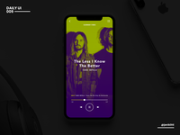 Not So Daily UI - 009 - Music Player
