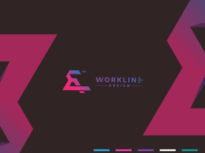 our new logo design. Workline design mockup simple and creative corporate branding business logo modern typography clean design logo illustration design logotype creative logo design branding logodesign