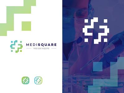 Logo for medical company. helthcare helth medical clean vector creative design logotype logo design logodesign logo branding