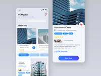 Rent flat App Clean Design
