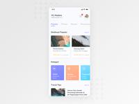 Travel Booking App Design