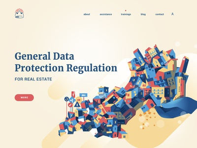 GDPR for Real Estate gdpr law buiding ui real estate