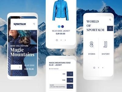 Sportalm - Magento store