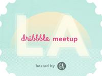 dribbble meetup / LA