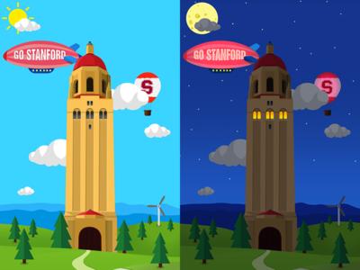 Menu background design for a college based app