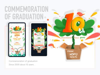 Commemoration Of Graduation