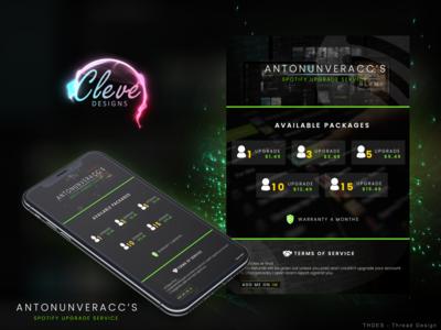AntonUnver Acc's - ThreadDesign Forum