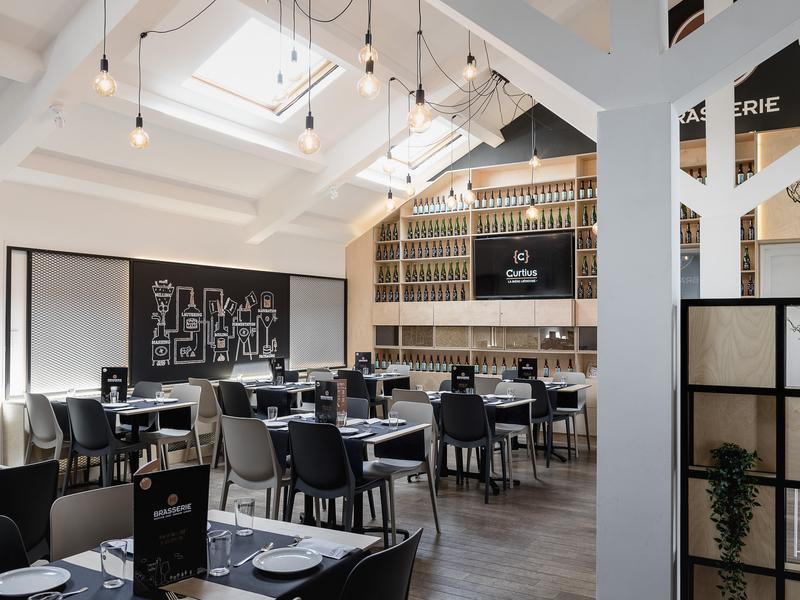 Restaurant Interieur Design.Interior Design For Brasserie C By Twodesigners On Dribbble