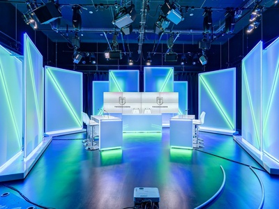 Interior Design for TV Lux Studio
