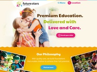Website Design - Future Stars Early Learning