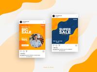 Social Media Banner for Sale Promotion