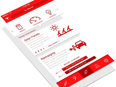 Tesla Energy Consumption native ios consumption energy tesla model s