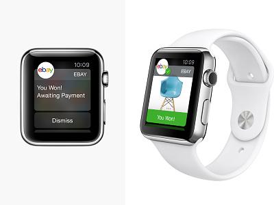 Apple Watch x eBay App ebay extension app apple watch