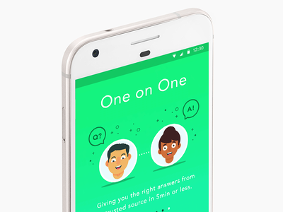 One-on-One qa 1x1 1:1 messaging app