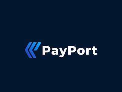 PayPort marketing agency branding p logo paypal minimal payment wallet pay clean mark app icon logos web logo symbol simple icon company logo logo design branding logo