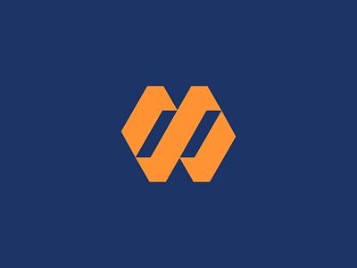 M  Logo simple logo monogram market marketing professional logo professional clean geometric mark app icon web logo logos symbol company logo simple logo design icon branding logo