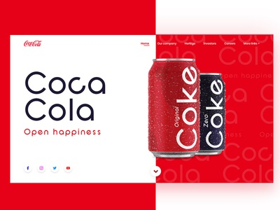 Coca-Cola App for web