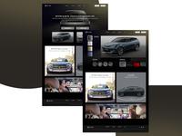Byton Redesign dark website
