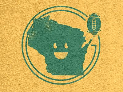 Go Pack Go! screen print t-shirt wisconsin logo cotton bureau football nfl green bay packers packers green bay